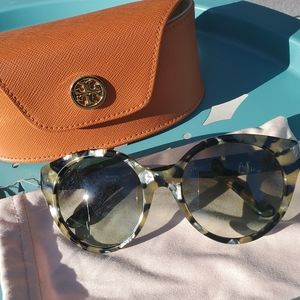 Tory Birch Sunglasses TY7087 with case & pouch